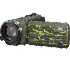 JVC GZ-R415GEK Traditional Camcorder - Camo