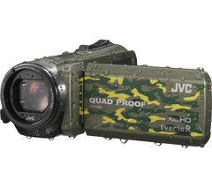 JVC GZ-R415GEK Camcorder - Camo