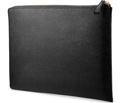 "HP Spectre 13.3"" Leather Laptop Sleeve - Black"