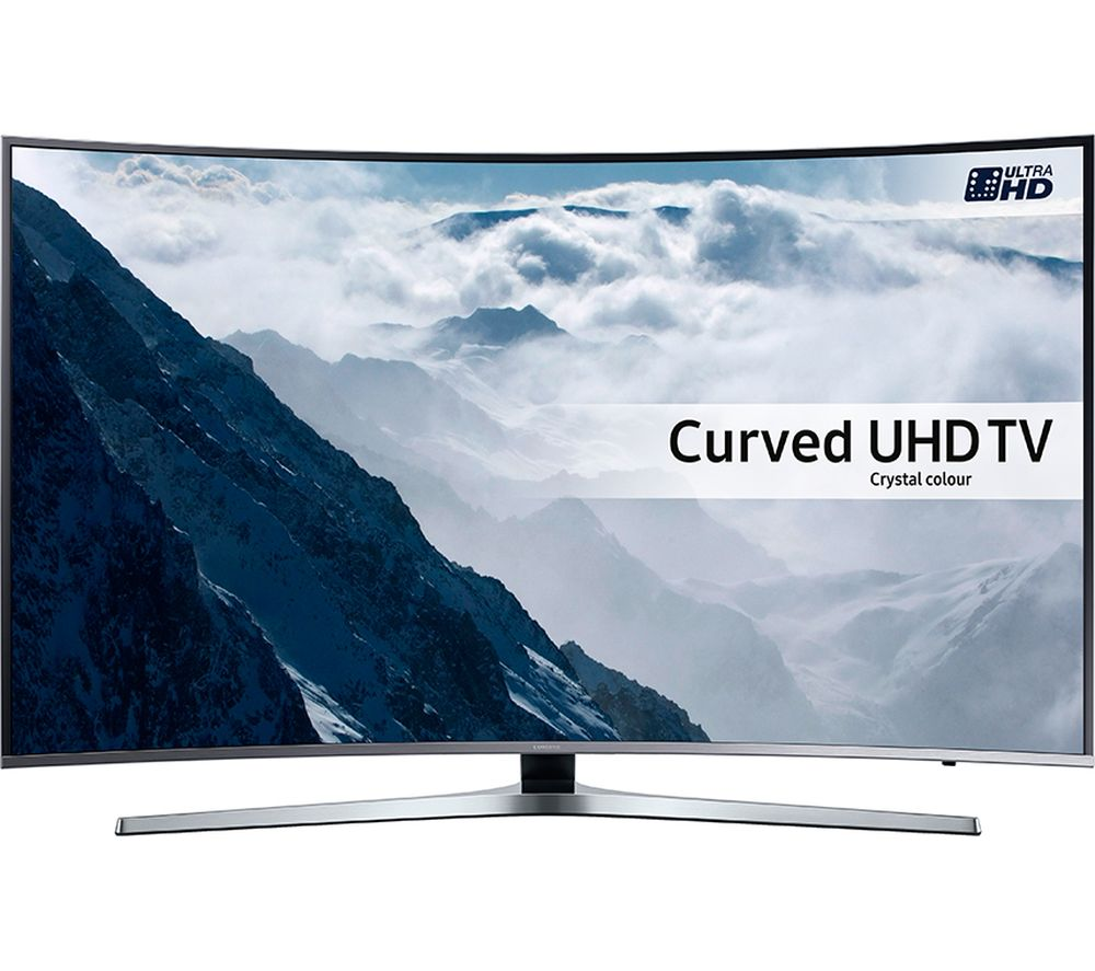 "Image of SAMSUNG UE43KU6670 Smart 4K Ultra HD HDR 43"" Curved LED TV"