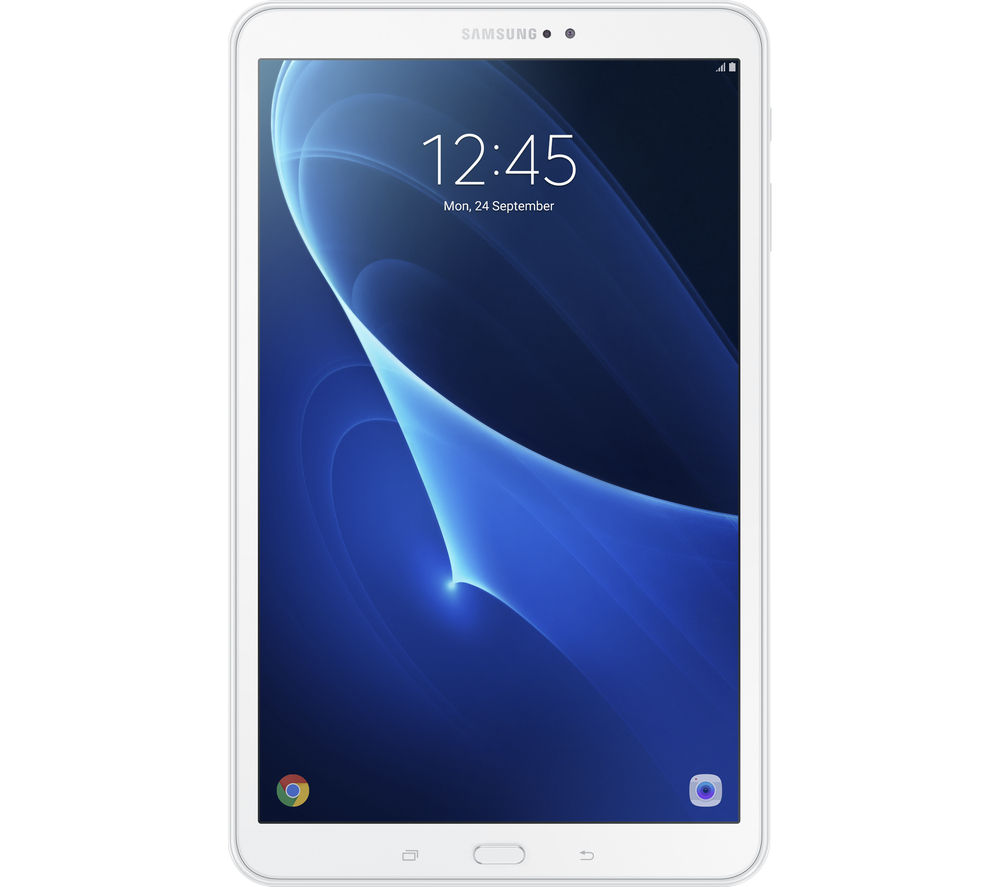 "Image of Samsung Galaxy Tab A 10.1"" Tablet - 16 GB, White"
