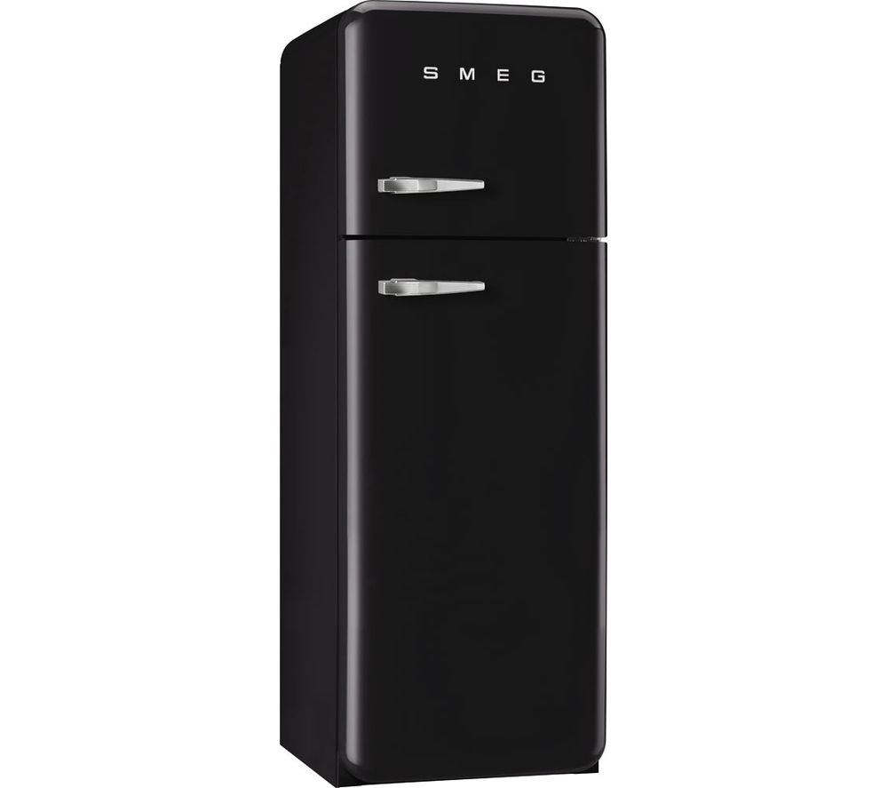 buy smeg fab30rfn 70 30 fridge freezer black free. Black Bedroom Furniture Sets. Home Design Ideas