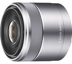 SONY SEL30M35.AE 30 mm f/3.5 Standard Macro Lens