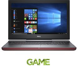"DELL Inspiron 15 15.6"" Gaming Laptop - Black"