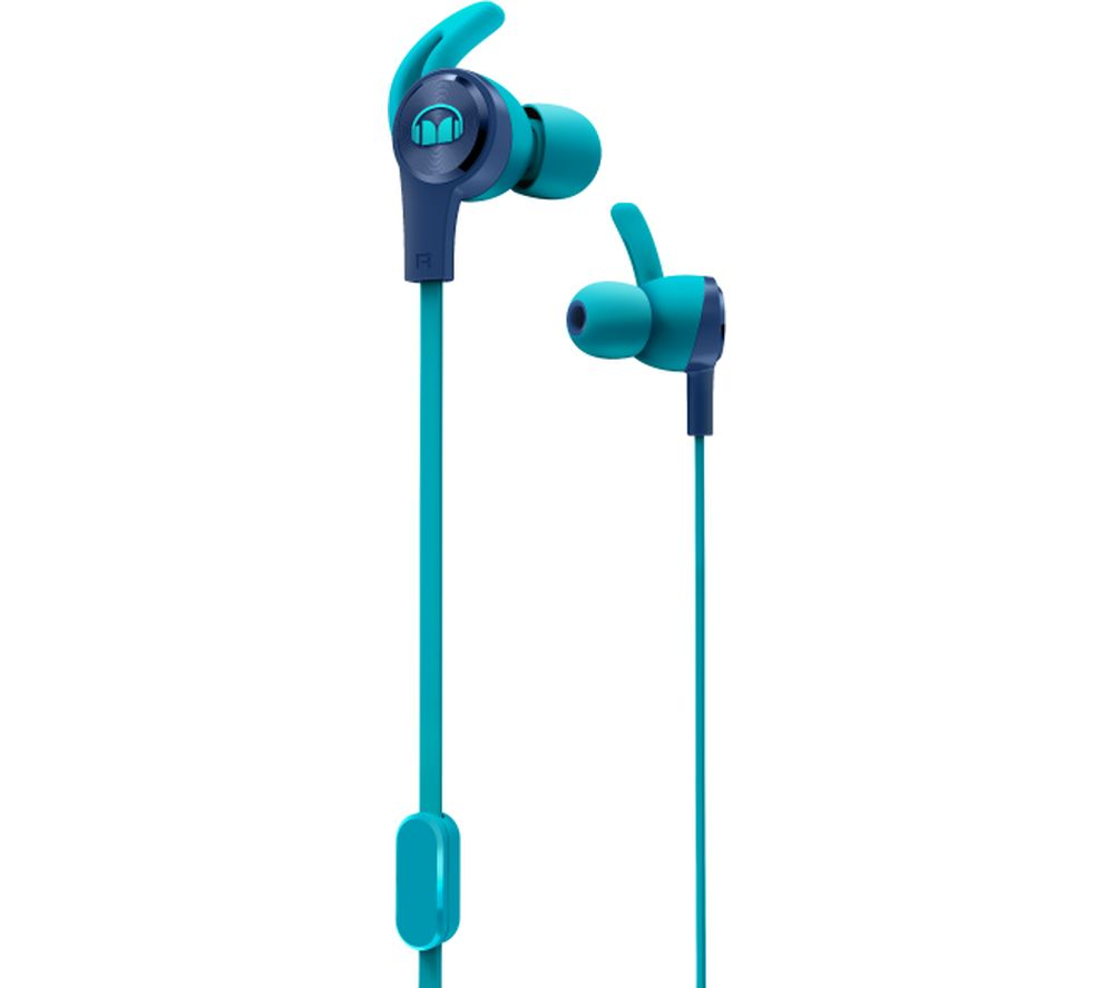 MONSTER iSport Achieve Headphones - Blue