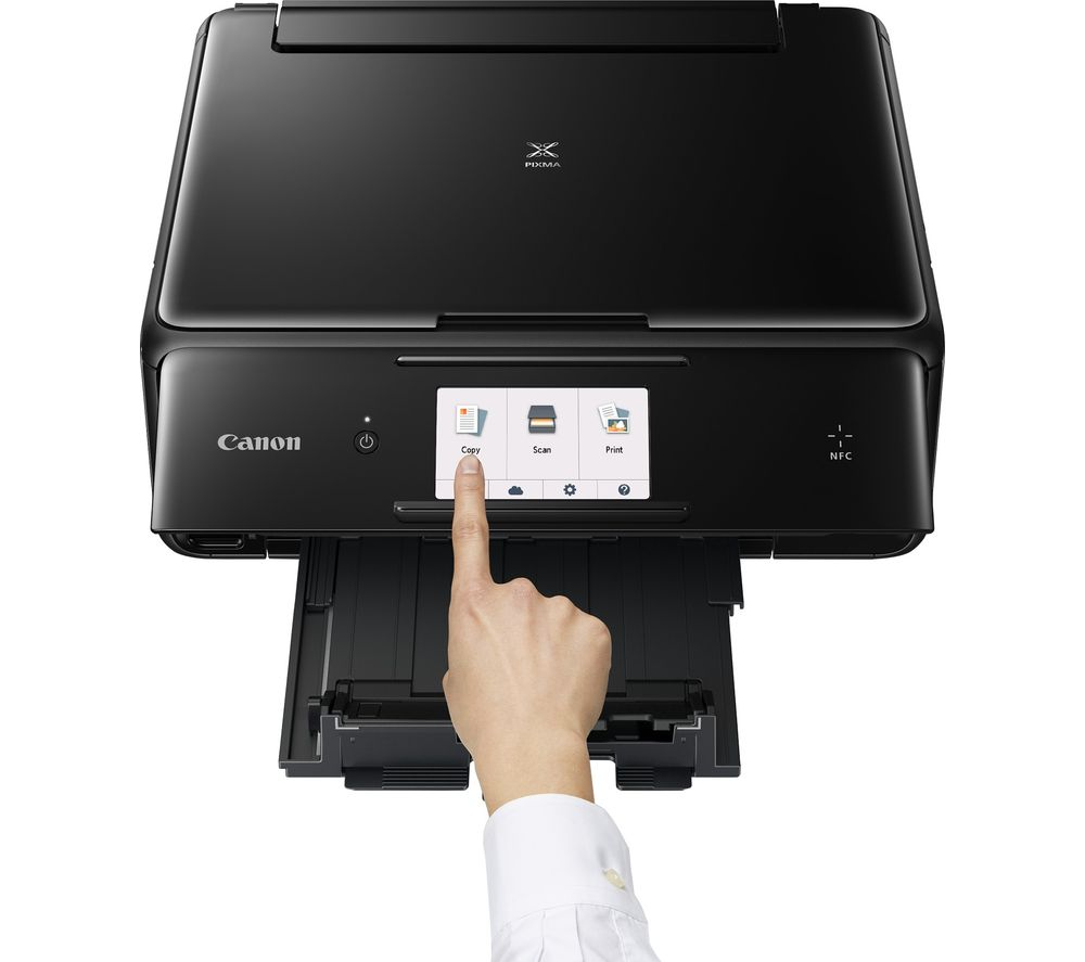 CANON PIXMA TS8050 All-in-One Wireless A4 Inkjet Printer + PGI570XL/571 Ink Cartridges - Multipack