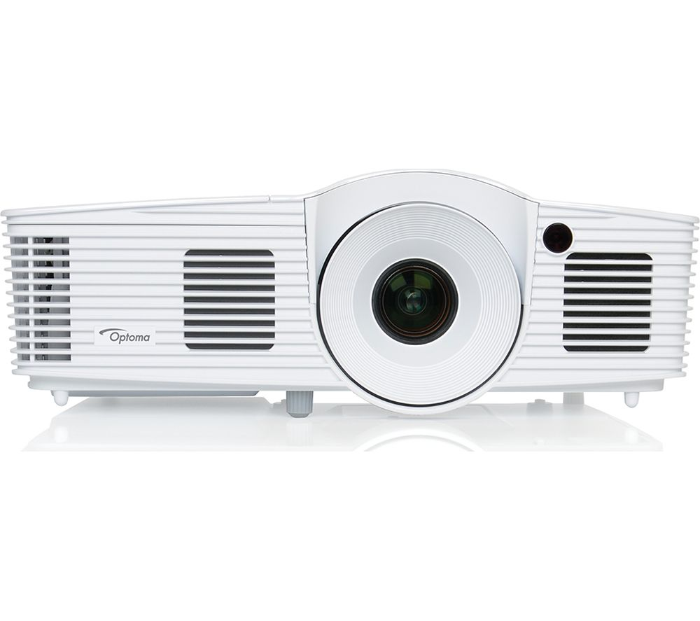 Optoma darbee hd28dse long throw full hd home cinema for Hd projector