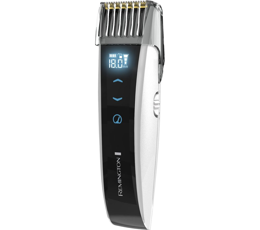buy remington touch control mb4560 beard trimmer black white free delivery currys. Black Bedroom Furniture Sets. Home Design Ideas