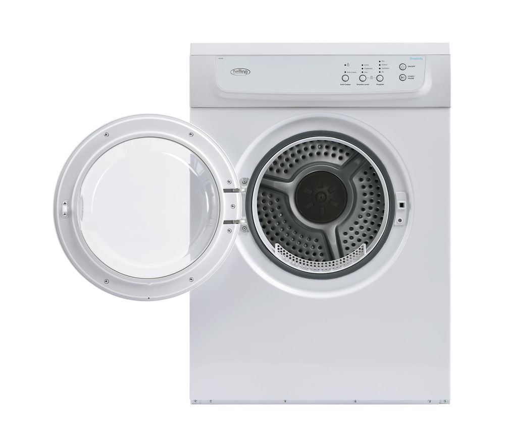 BELLING FD700 Whi Vented Tumble Dryer  White White