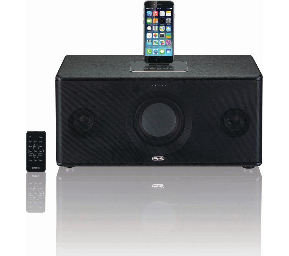 IWANTIT IBTLIA17 Bluetooth Wireless Docking Station - Black