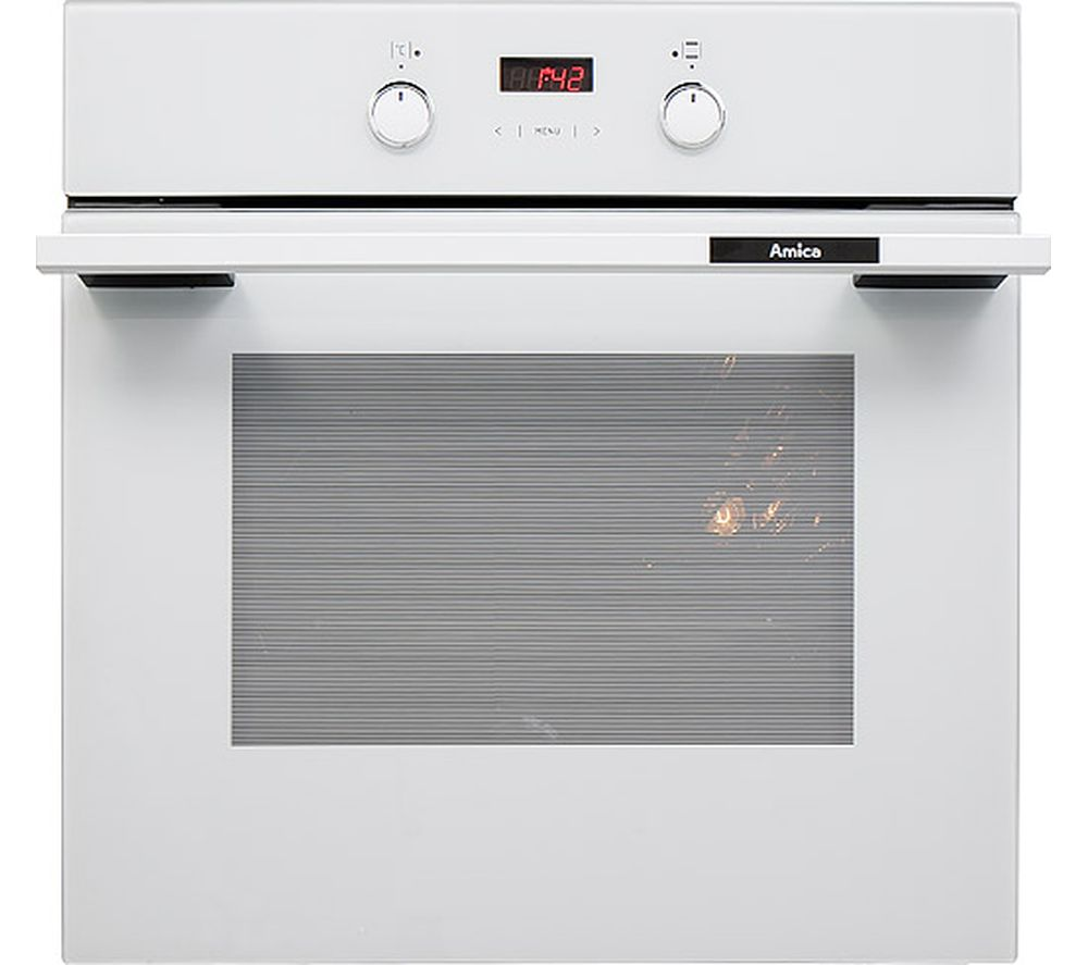 Image of AMICA 1053.3TsW Electric Oven - White, White