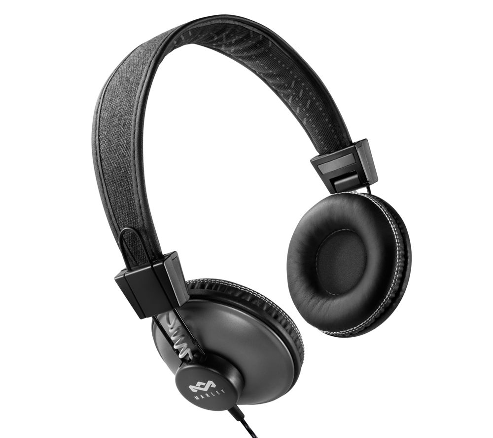 HOUSE OF MARLEY Positive Vibration Pulse Headphones - Black