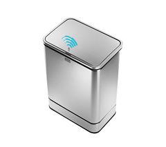 SIMPLE HUMAN ST2000 40-litre Rectangular Sensor Bin - Stainless Steel