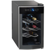 HUSKY Reflections HUS-HN11 Wine Cooler - Black