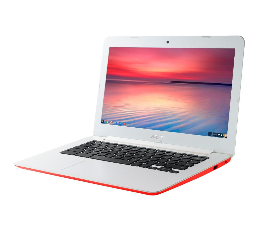 "ASUS C300 13.3"" Chromebook - Red"