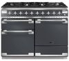 RANGEMASTER Elise 110 Dual Fuel Range Cooker - Slate & Aluminium