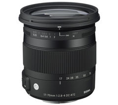 SIGMA 17-70 mm f/2.8-4 DC HSM OS Standard Zoom Lens with Macro - for Canon