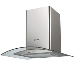 CANDY CGM61/1X Chimney Cooker Hood - Stainless Steel
