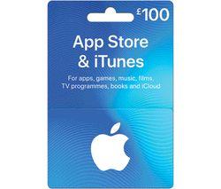£100 iTunes Card