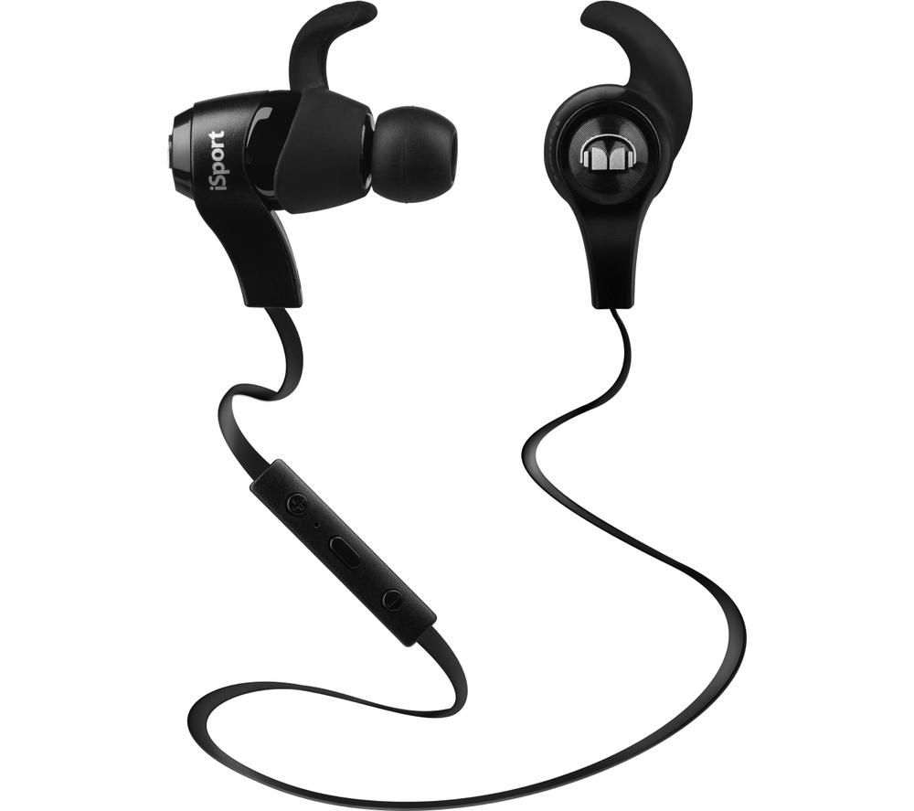 monster isport wireless bluetooth headphones black deals pc world. Black Bedroom Furniture Sets. Home Design Ideas