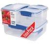 SISTEMA Klip It Storage Boxes - Pack of Six