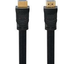 LOGIK L2FHDMI15 Flat HDMI Cable - 2 m