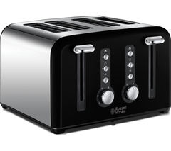 RUSSELL HOBBS Windsor 22832 4-Slice Toaster - Black