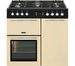 LEISURE A La Carte 90 AL90F230C Dual Fuel Range Cooker - Cream
