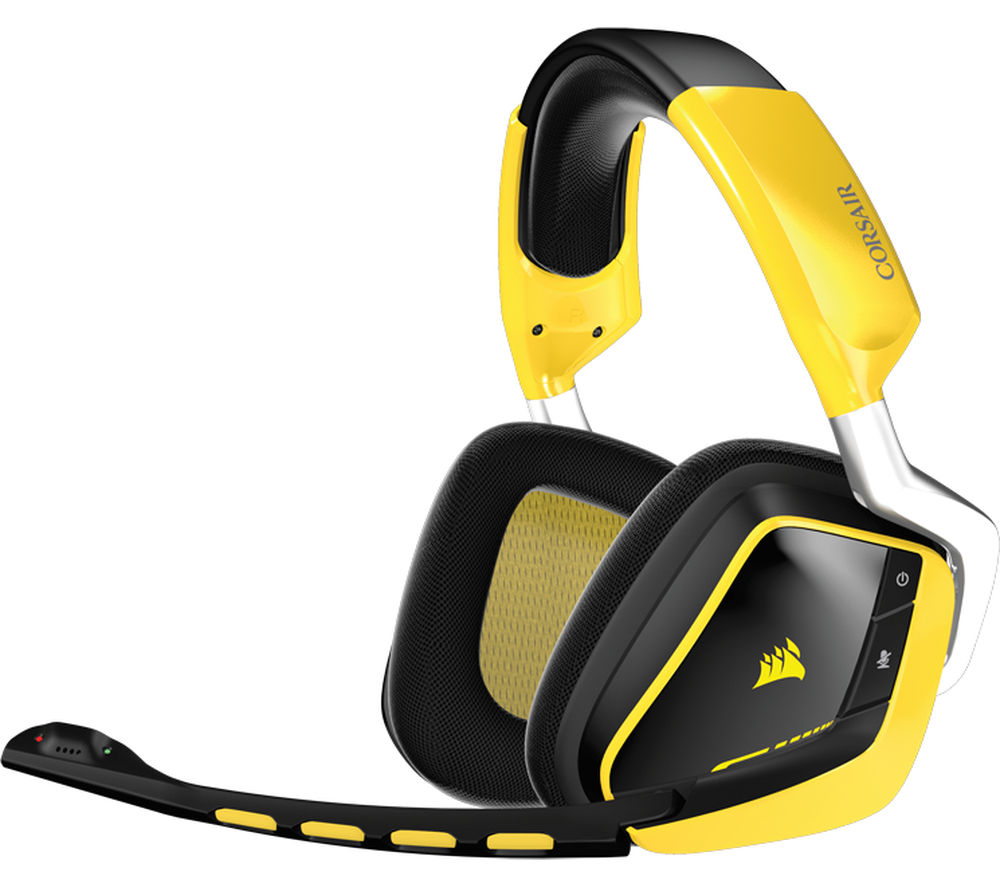 corsair void rgb se wireless 7 1 gaming headset. Black Bedroom Furniture Sets. Home Design Ideas