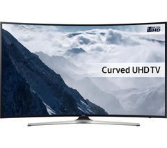 "SAMSUNG UE55KU6100 Smart 4K Ultra HD HDR 55"" Curved LED TV"