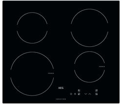 AEG HK604200IB Electric Induction Hob - Black