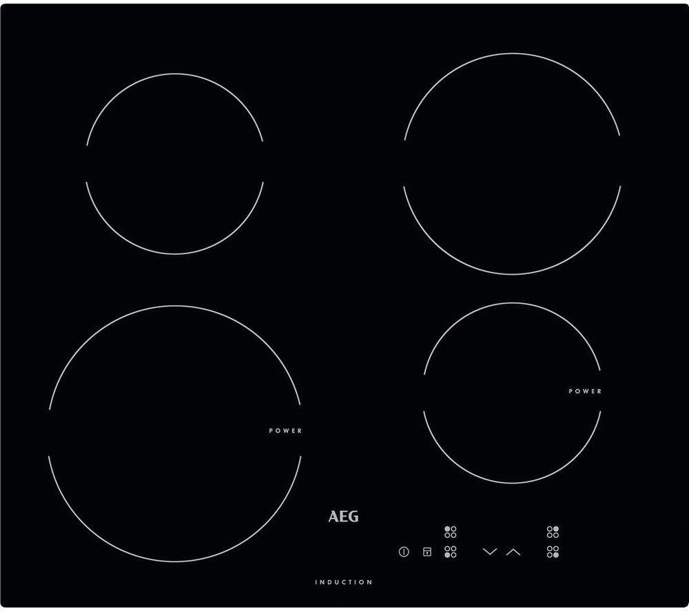 AEG  HK604200IB Electric Induction Hob  Black Black