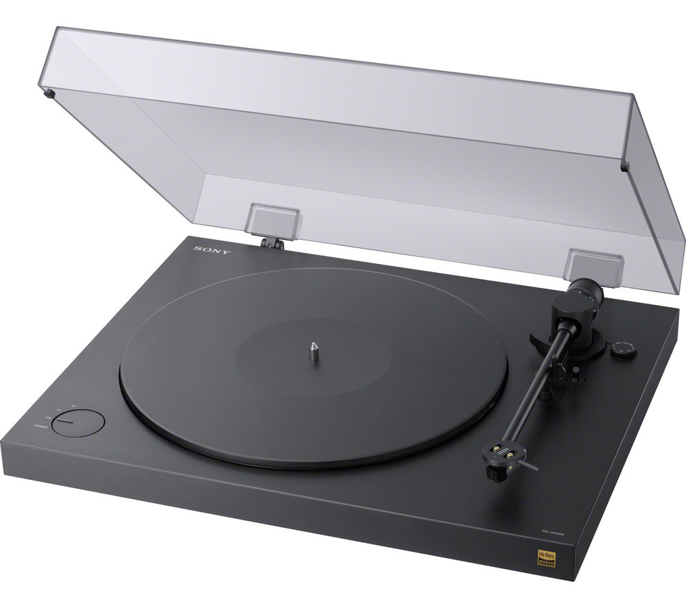 Click to view more of SONY  PS-HX500 USB Turntable - Black, Black