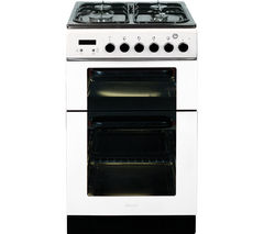 BAUMATIC BCG520W Gas Cooker - White
