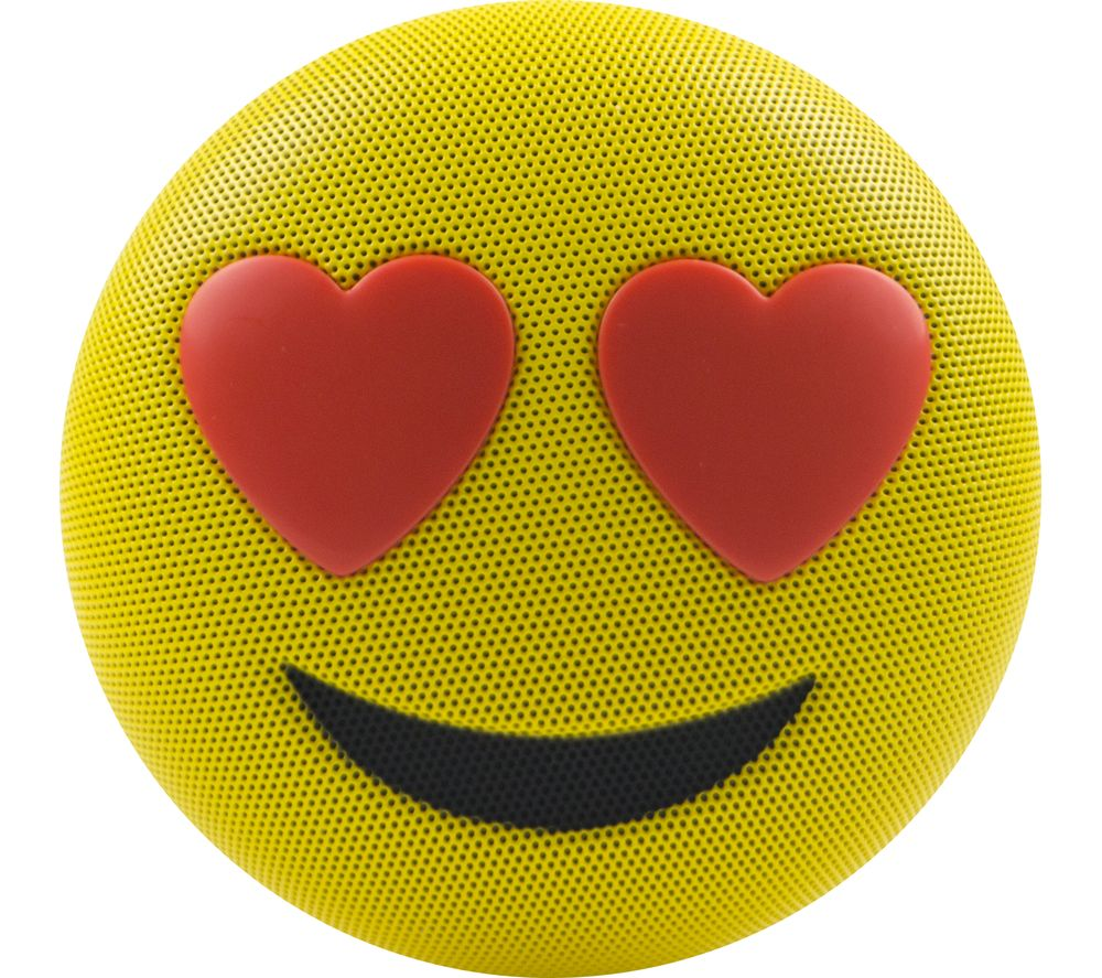 JAMOJI Love Struck Portable Bluetooth Wireless Speaker - Yellow