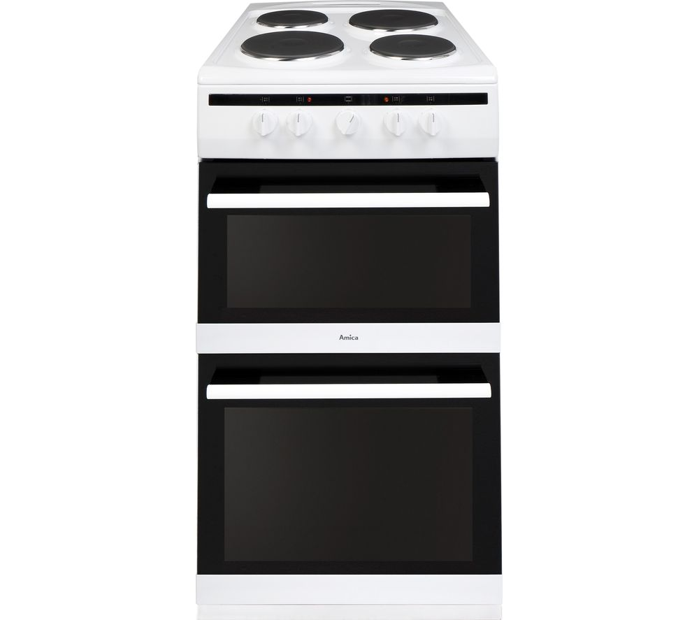 Image of AMICA 508TEE1(W) Electric Cooker - White, White