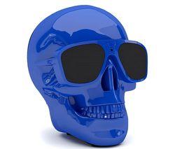 JARRE AeroSkull XS + Portable Wireless Speaker - Blue