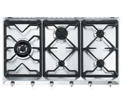 SMEG SE97GXBE5 Gas Hob - Stainless Steel