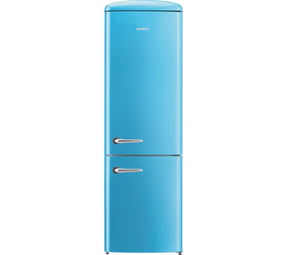GORENJE ONRK193BL Fridge Freezer  Baby Blue Blue