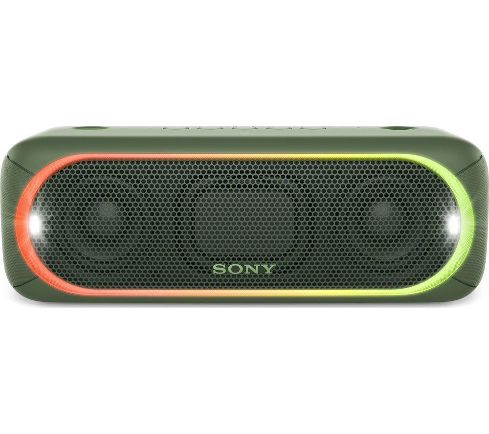 SONY SRS-XB30 Portable Bluetooth Wireless Speaker - Green