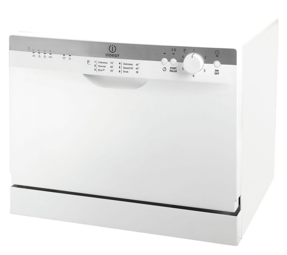indesit idc661 table top dishwasher ebay. Black Bedroom Furniture Sets. Home Design Ideas