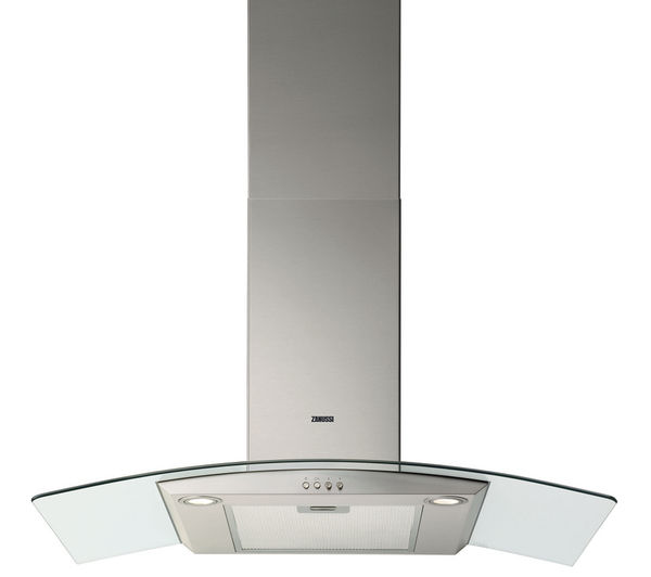 Buy Zanussi Zhc9234x Chimney Cooker Hood Stainless Steel
