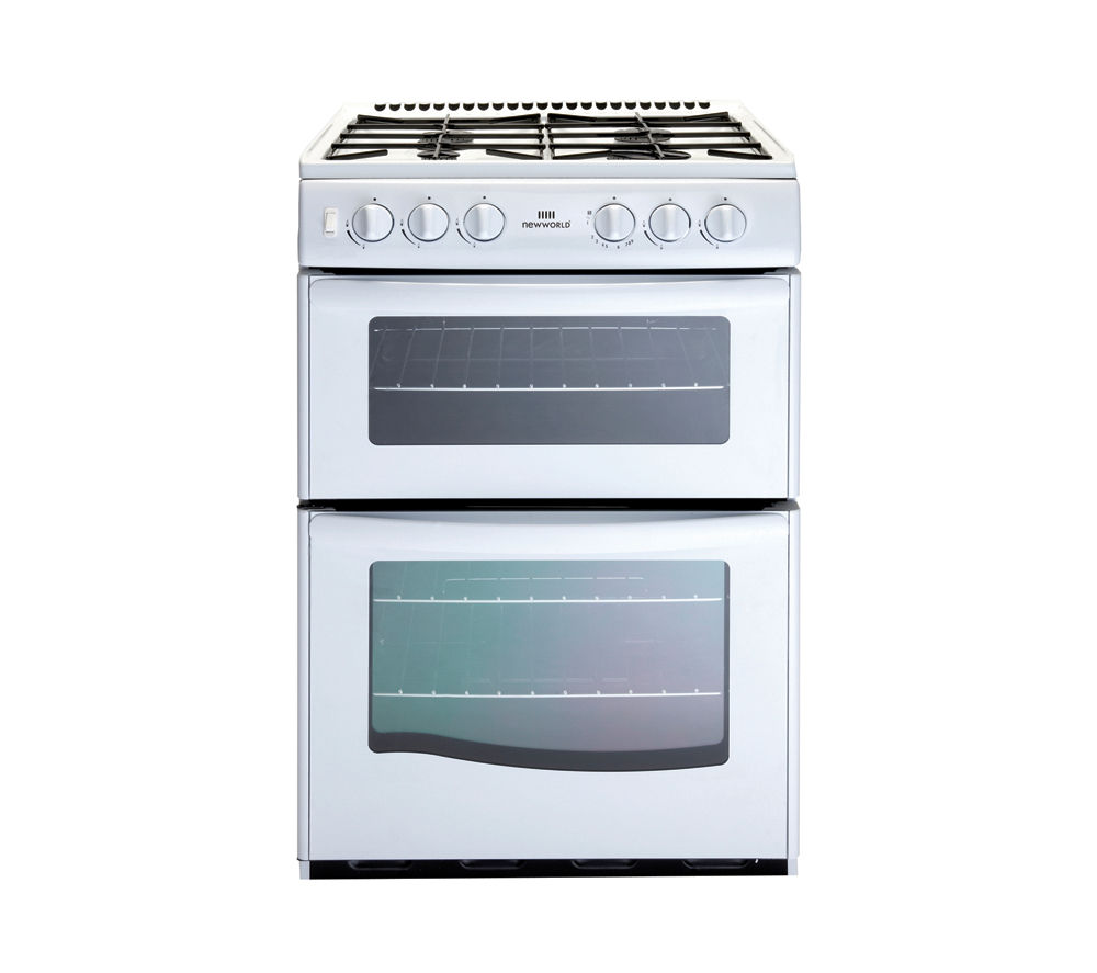 NEW WORLD G55TT Gas Cooker - White