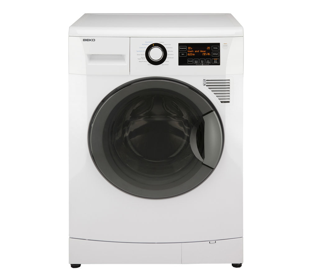 BEKO EcoSmart WDA91440W Washer Dryer - White