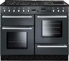 RANGEMASTER Toledo 110 Dual Fuel Range Cooker - Gunmetal & Chrome