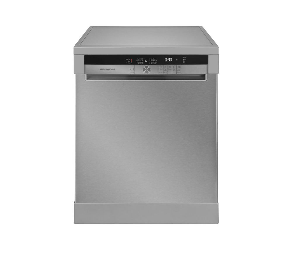 GRUNDIG GNF41810X Full-size Dishwasher - Stainless Steel