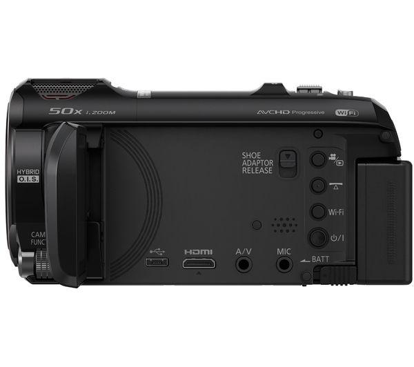 PANASONIC HC-V750EB-K Full HD Camcorder - Black