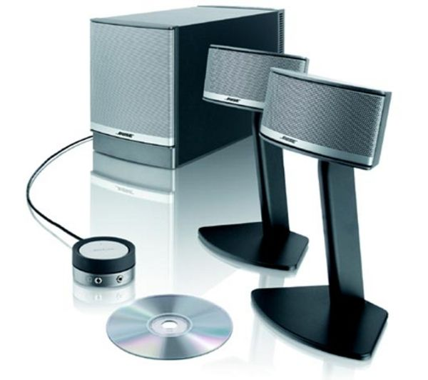 bose pc speakers. 0017817536929 - bose companion 5 2.1 pc speakers silver currys world business bose pc