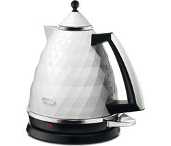 DELONGHI Brillante KBJ3001W Jug Kettle - White