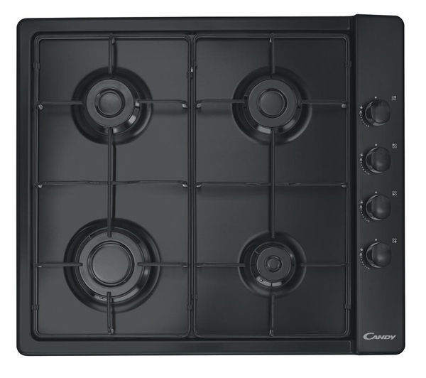CANDY  CLG64SPN Gas Hob  Black Black